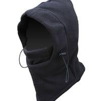 2 in 1 Thermal Fleece WIndproof Neck Scarf and Hat