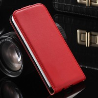 FLOVEME Genuine Flip Leather Case For iPhone 7 7PLus 5S 4S Vintage Magnetic Flip Phone Bag Cover Cases Fundas For Iphone 7 7Plus