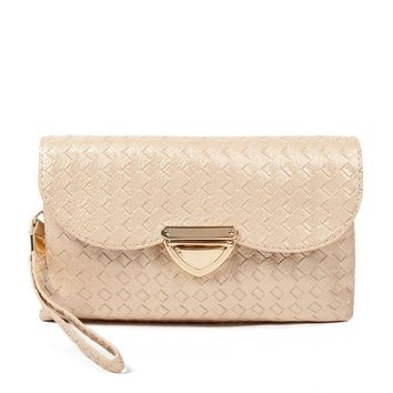 Lady PU Leather Spring Fashion Quilted Day Crossbodys Clutches