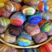 Felted Soap Unique Gift 5 Bars | Luulla