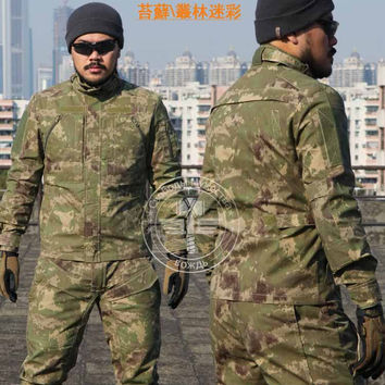 Camouflage Tactical Military Us Army Combat Shirt Cargo Multicam Airsoft Paintball Military Coats Jackets