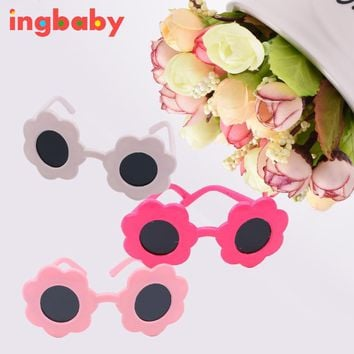 Fashion 18 Inch American Girl Doll Sunglasses Girls DIY Children's Toys Barbie Dress Up Sunglasses Glasses Accessories Ingbaby