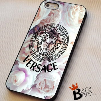 Versace Flower iPhone 4s iphone 5 iphone 5s iphone 6 case, Samsung s3 samsung s4 samsung s5 note 3 note 4 case, iPod 4 5 Case