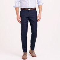 J.Crew Mens Ludlow Suit Pant In Italian Worsted Wool