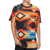 Neff x Mac Miller Tribal Print Sublimated Tee Shirt at Zumiez : PDP