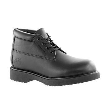 Timberland Mens Premium Waterproof Chukka Black Smooth Boot - 7 M
