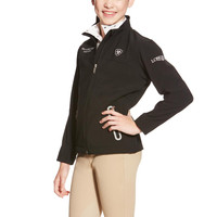 Ariat Youth FEI World Cup New Team Softshell - Black