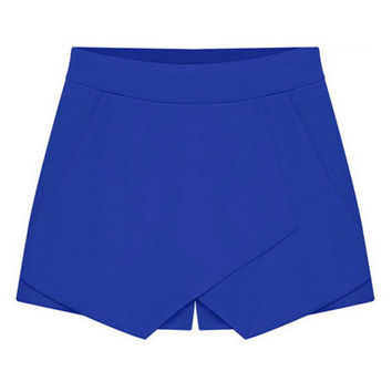 Culottes Candy-Colored Shorts