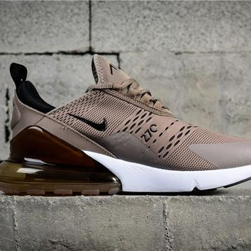 Air Max 270 Gray/Brown AH8050-200 Running Shoe