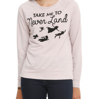 Disney Peter Pan Take Me To Neverland Pullover Top