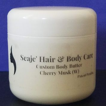Seaje' Custom Body Butter - 2 ounce