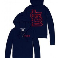 St. Louis Cardinals Bling Perfect Full Zip Hoodie - PINK - Victoria's Secret