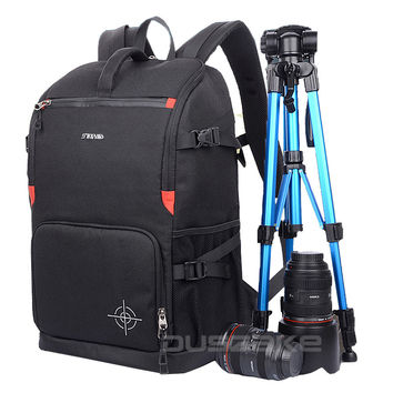 "DSLR Camera Photo Backpack Padding Divider Insert with 15"" Laptop Pack Travel Bag for Canon 5D 7D 600D Nikon D7200 Sony a6000 38"