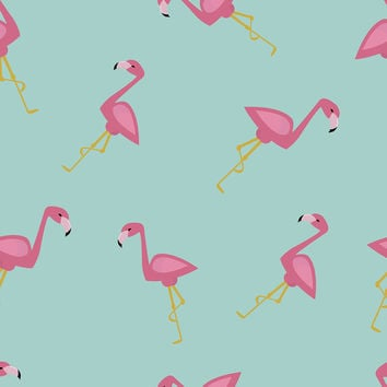 Flamingos Removable Wallpaper
