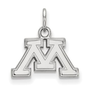 NCAA Sterling Silver U. of Minnesota XS Pendant Necklace