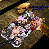 Cameron dallas Nash Grier and Shawn mendes collage Cover iPhone 4 4S iPhone 5 5S 5C and Samsung Galaxy S3 S4 S5 Case