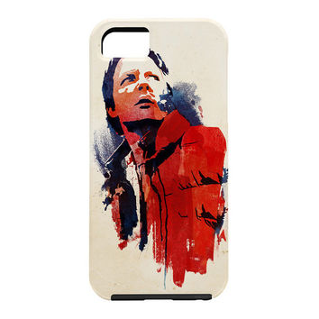 Robert Farkas Marty McFly Cell Phone Case