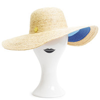 Jonathan Adler Floppy Color-Block Stripe Sun Hat