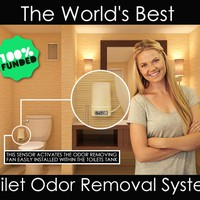 The World's Best Toilet Odor Removal System || The Odorless