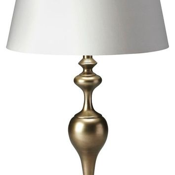 Butler Mariah Antique Brass Table Lamp