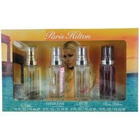 PARIS HILTON VARIETY by Paris Hilton SET-4 PIECE WOMENS VARIETY WITH PARIS HILTON & SIREN & HEIRESS & CAN CAN AND ALL ARE EAU DE PARFUM
