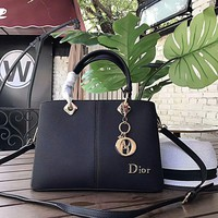 Christian Dior Handbag Leather Satchel