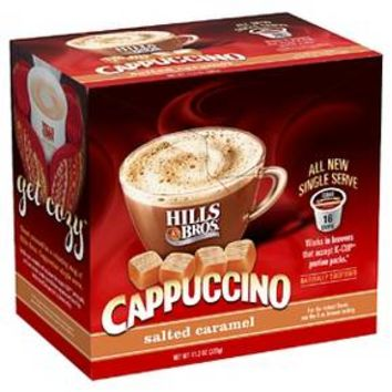 Hills Bros® Cappuccino Salted Caramel 16 ct