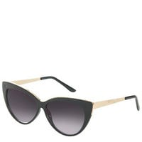 Simone Cateye Sunglasses - Black
