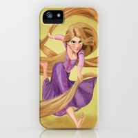 Rapunzel iPhone & iPod Case by Valentina M.