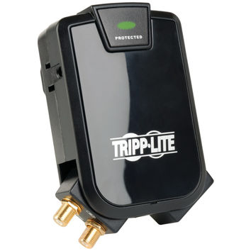 Tripp Lite 3-outlet Surge Protector For Wall-mount Tvs
