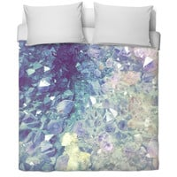 Geode bed spread