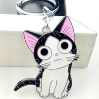 Cute Anime Cat Keychain Charm FREE SHiPPiNG!!