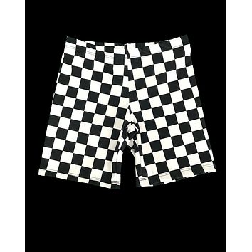 Ch-Ch-Check It Biker Shorts