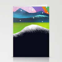 Starry Day Stationery Cards by Amelia Senville