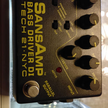 Used Tech 21 SansAmp Bass Driver