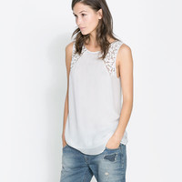 EMBROIDERED TOP - Woman - New this week | ZARA United States