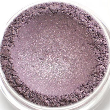 "Muted Purple Shimmer Eyeshadow - ""Highborn"" - Vegan Mineral Eyeshadow Net Wt 2g Mineral Makeup Eye Color Pigment"