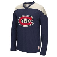 Montreal Canadiens CCM Retro Long Sleeve Applique Crew