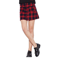 Red Plaid Skirts