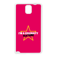 Celebrity Hater White Silicon Rubber Case for Galaxy Note 3 by Chargrilled