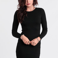 A Big Deal Fitted Dress