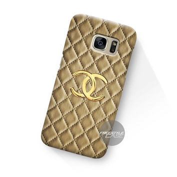 Art Work Chanel Hulle Gold Samsung Galaxy Case Cover Series
