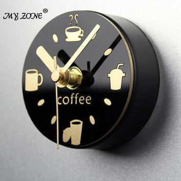 creative alarm clock Leisure time clock refrigerator magnets message posted withdrawing watch fridge magnet mute wall clock