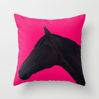Hot Stuff Throw Pillow by anipani