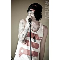 KELLIN QUINN PHOTO 8X10 SLEEPING WITH SIRENS 1
