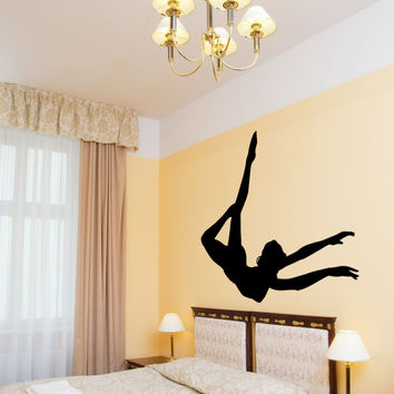 Vinyl Wall Decal Sticker Acrobatics #OS_MB730