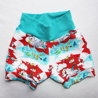 Toddler Bubble Shorts 18-24 months Dr. Seuss Baby Boy Shorties Infant Boy Shorts Toddler Girl Puffy Bloomers Cat in the Hat Horton Fish