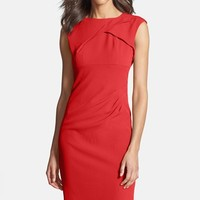 Women's Adrianna Papell Pleated Crepe Dress