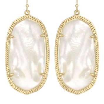 Danielle Earrings in Ivory Pearl - Kendra Scott Jewelry