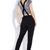 Sleek Surplice Jumpsuit